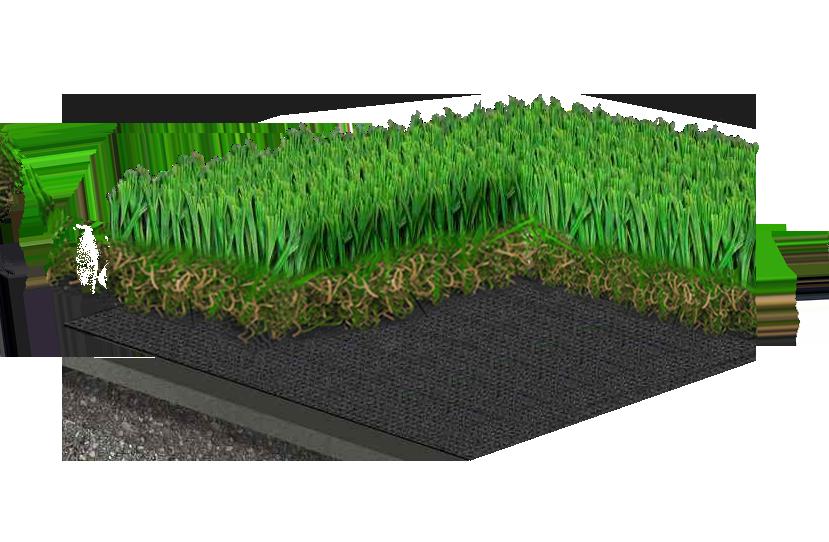 pelouse artificielle fibres 100% eurpéennes