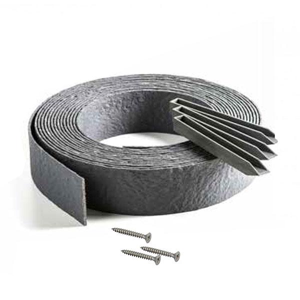 Kit – Bordure de Jardin PVC Gris