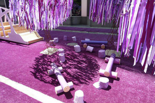 gazon-violet-decoration
